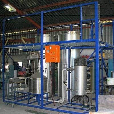 Electric Boiler Distilling Essential Oils