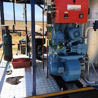 LP Gas Boiler for Distilling Essential Oils