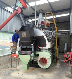 Wood burning distillation boiler for essential oil extraction